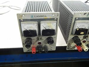 Lambda Lh 118a Regulated Dc Power Supply