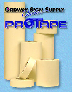 Vinyl Cutter Transfer Application Tape 3 To 48 X 100 Yards Free Shipping