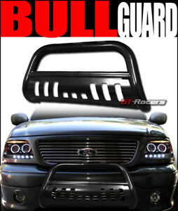 For 2005 2015 Toyota Tacoma Black Steel Bull Bar Brush Bumper Grill Grille Guard