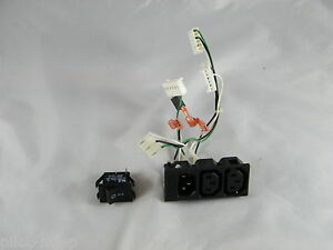 Triton 9100 Atm Power Supply Plug Switch And Connectors