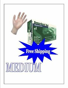 Vinyl Disposable Gloves Powder Free Medium 1000 10 Boxes Free Shipping