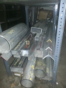 Stainless Steel Square Tube Alloy 304 6 X 6 X 231 X 41 1 2 Long