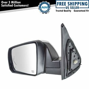 Mirror Power Fold Heat Signal Memory Blind Spot Puddle Chrome Left Lh For Tundra