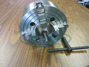 10 4 jaw Lathe Chuck With Independent Jaws 1004f0 New