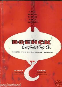 Equipment Catalog Boehck Engineering Construction Mobile Eqpt Tools e1759