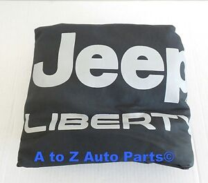 New 2002 2007 Jeep Wrangler 16 17 Inch Spare Tire Cover With Liberty Logo Mopar