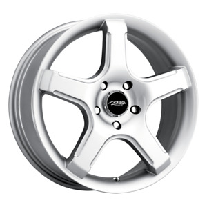 Set 4 15x6 5 38 5x108 5x4 25 Mb 14 Silver Wheels Rims 15 Inch 75907