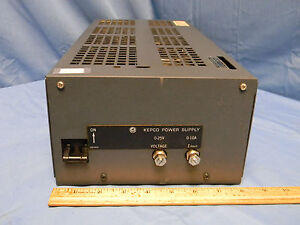 Kepco Jqe 25 10 Dc Power Supply 0 25v 0 10a Load Tested