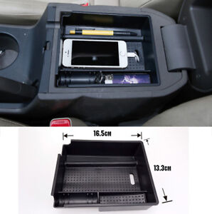 Fit For Hyundai Ix35 Tucson 2011 2014 Armrest Storage Box Center Console Tray