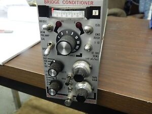 Unholtz Dickie Bridge Conditioner D22 Pmb