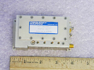Frequency Sources Fs 3030 6 Sma Rf 2060mhz Oscillator 2 06ghz Ailtech 230817