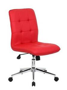 Boss Contemporary Task Chair In Red