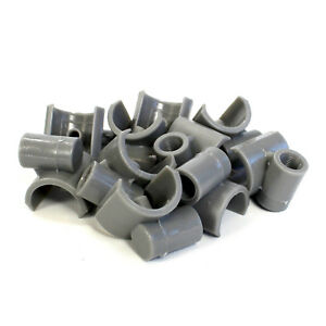 10 Piping T Adapters Water Drinker Feeder Cup Mount Float Chicken Poultry Hen