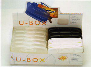 U box For Life s Essentials Card Holder Case White Money business Or Credit Card