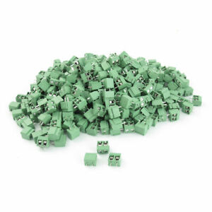 400pcs 300v 10a 5mm 26 16awg Pcb Surface Mount Screw Terminal Block