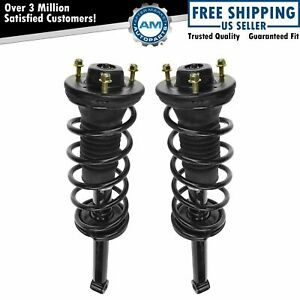 Shock Spring Assembly Rear Left Right Pair Set Of 2 For 90 00 Lexus Ls400