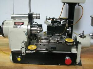 Hardinge Lensmaster Ii Super precision Optical Lathe Radius Turning Attachment
