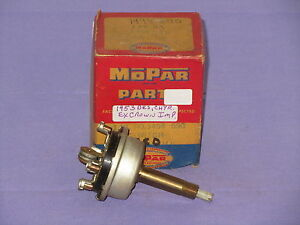 Nos Mopar 1953 Chrysler Desoto Windshield Wiper Switch