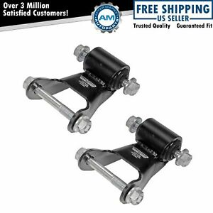 Dorman Leaf Spring Rearward Shackle Bracket Kit Pair Set For Chevy Gmc Fits More Than One Vehicle