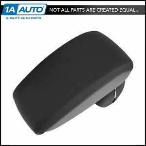 Oem Center Console Arm Rest Leather Black For 11 14 Nissan Juke Ke877 1k100