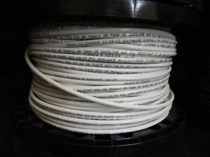 8 Gauge Thhn Wire Stranded White 100 Ft Thwn 600v Copper Machine Cable Awg