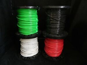 6 Gauge Thhn Wire Stranded 4 Colors 50 Ft Each Thwn 600v Copper Cable Awg