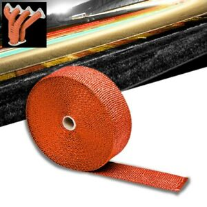 Orange 2 X 1 16x 7 5m 295 T1 Exhaust Header Turbo Manifold Downpipe Heat Wrap