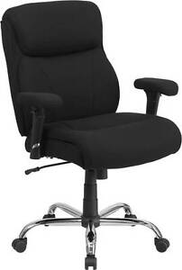 Hercules Series 400 Lb Capacity Big Tall Black Fabric Task Chair With Height