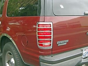 1997 2002 Ford Expedition Chrome Taillight Cover