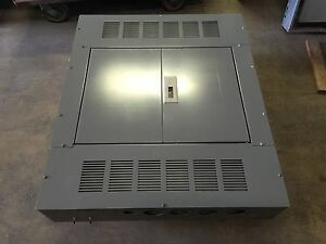 Square D I line Panelboard Mlo 800 Amp 277 480v 3 Phase 4 Wire Hc4250db