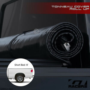 Lock Roll Soft Tonneau Cover 1982 1993 Chevy S10 Gmc Sonoma 6 Ft 72 Short Bed