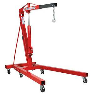Sealey Folding Crane Workshop Engine Lifting Hoist 1tonne Kd Type Sc10