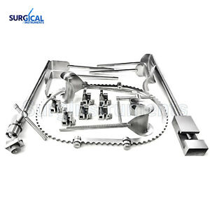 Bookwalter Retractor System Surgical Instruments