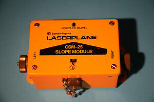 Spectra physics Laserplane Csm 25 Slope Module
