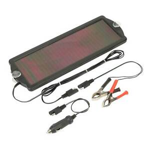 Sealey Solar Daylight Power Panel Trickle Battery Charger 12v 4 8w Spp03
