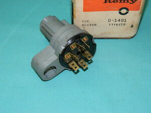 Nos 1960 Oldsmobile Ignition Switch Delco Remy