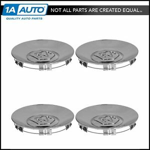 Mopar Wheel Hub Center Cap Chrome Set For Dodge Dakota Durango