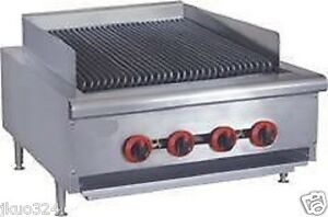 New Radiant Char Broiler Gas Grill 24 80 000 Btu