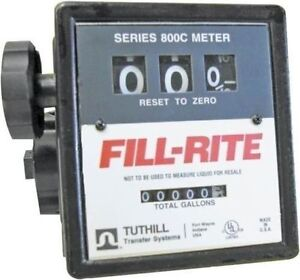 New Tuthill Fill Rite 807cmk Fuel Transfer Flow Meter New In Box Sale Price