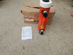 Spx Power Team Rh 3010 Hydraulic Hollow Ram Double Acting Cylinder 30 Ton 10