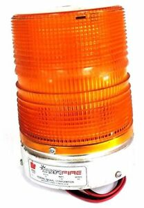 Federal Signal 131st Amber Strobe Light Series A3 24volts 1 25amps 131st 24