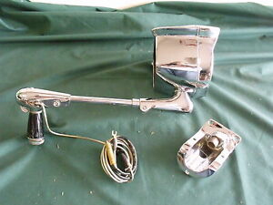 Nos 1964 1965 Lh Ford Falcon Spotlight With Bracket Fomoco Comet 64