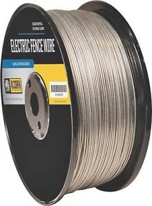 Acorn Efw1712 17 Gauge 1 2 Mile Length Galvanized Electric Fence Wire 8156291