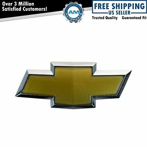 Oem 22909142 Bowtie Emblem Front Bumper Mount For Chevy Malibu Captiva New