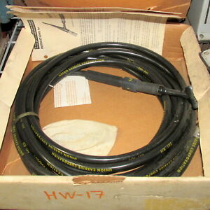 Heliarc Linde 25ft Hose Tig Torch Hw 17 pzb