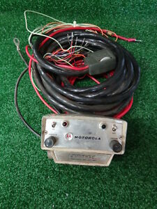 Motorola Motrac Vhf Uhf Vintage Control Head With Remote Cable Rare Find A 14