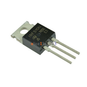 10pcs Irf510npbf Irf510n Irf510 Power Mosfet N channel 100v 5 6a New