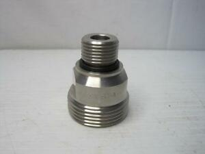 8681 Cpv 59t 2 Stainless Reducer 1 2 Orb X 1 3 8 Nominal 304 ssf910 O seal