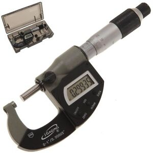 Micrometer Outside 0 1 00005 Ip65 Digital Electronic Vernier Analog Usb Igaging