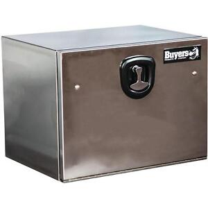 Buyers Polished S S 18 X 18 X 30 Underbody Toolbox 1702653